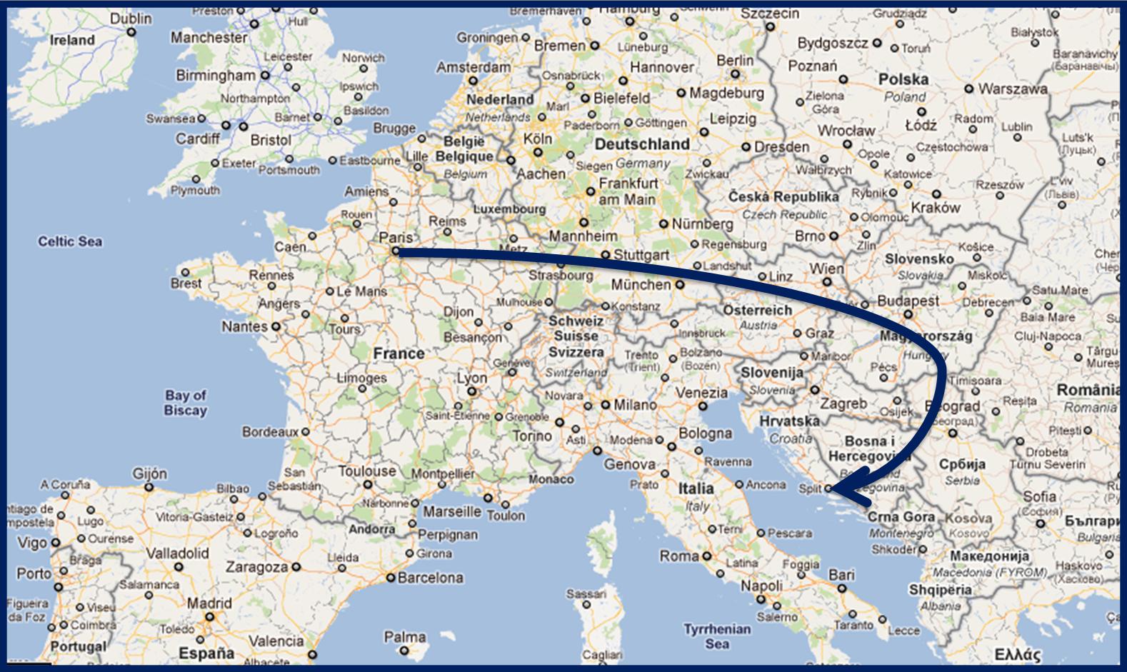 Carte Nuage Croatie.Hvar Station Balneaire Huppee Chroniques De Voyage D